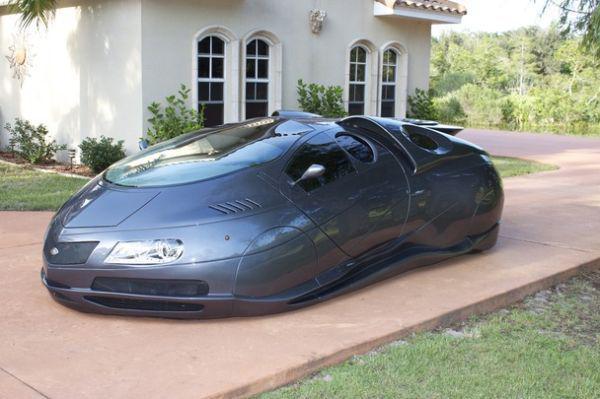Очень необычное авто в США (9 фото)
