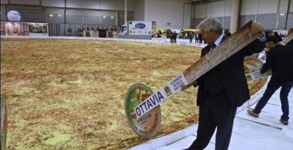 Пица в 40 метров (5 фото)