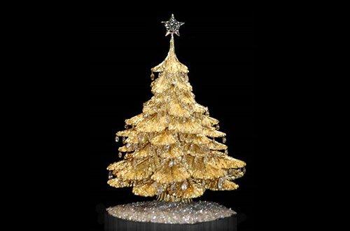 Самые дорогие в истории рождественские елки