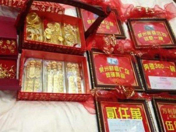 Китайский бизнеcмен подарил дочери приданого на 150.000.000$ (2 фото)