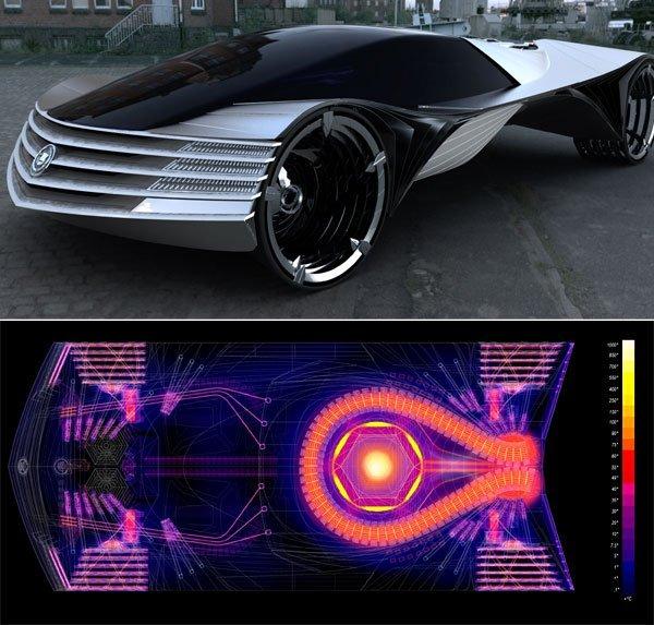 Cadillac WTF – первый автомобиль с ядерным двигателем (4 фото)