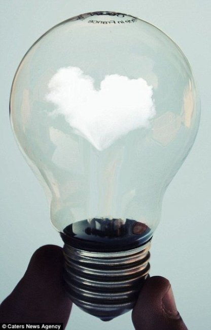 Мир в лампочках от Адриана Лимани (Аdrian Limani) (14 фото)