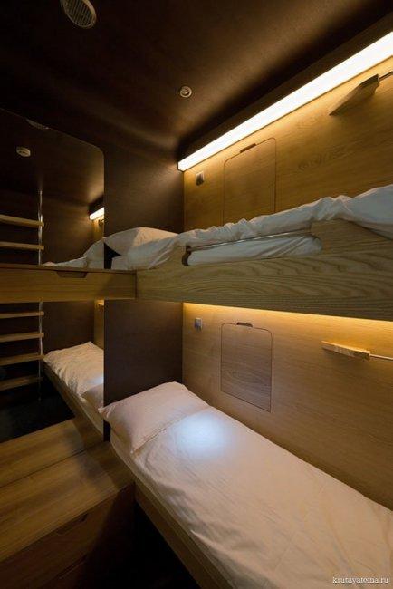 Московский Sleepbox отель (11 фото)