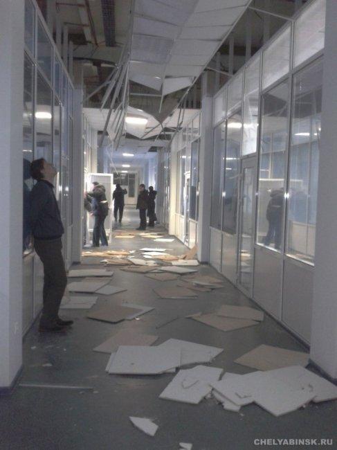 В Челябинске упал метеорит (14 фото)