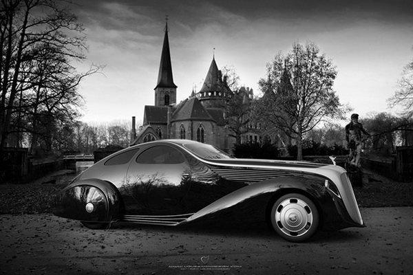 Возвращение легендарного Rolls Royce (6 фото)