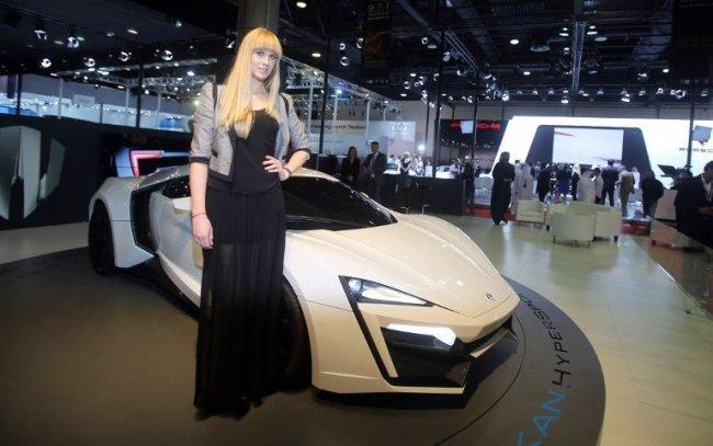 Арабский суперкар Lykan Hypersport (10 фото)