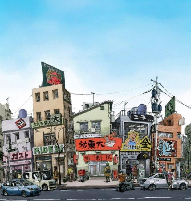 Самый быстрый художник из Кореи (16 фото)