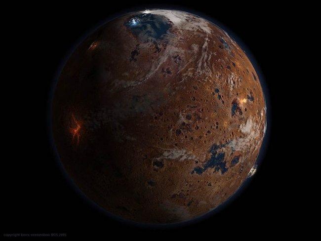 20 интересных фактов о Марсе (9 фото)
