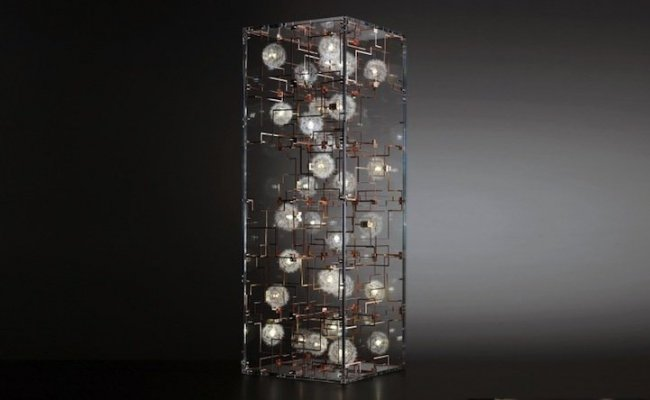 Люстры и светильники из одуванчиков (13 фото)