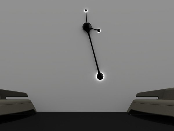 Современные настенные часы Pendulum Wall Clock от Nuno Teixeira.