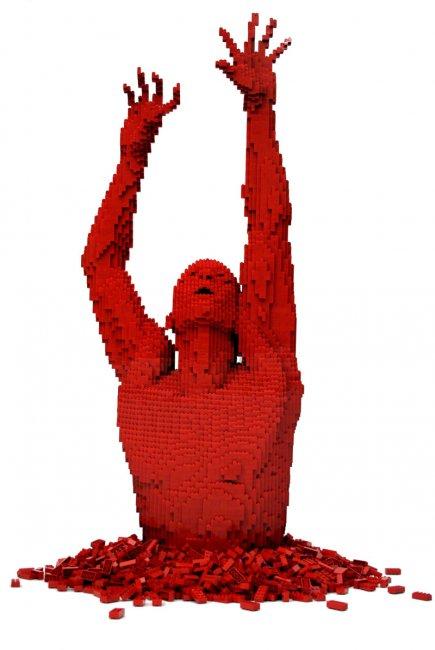Скульптуры из конструктора Lego (16 фото)