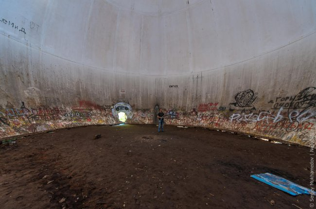 Радиопрозрач ный купол под Москвой (16 фото)