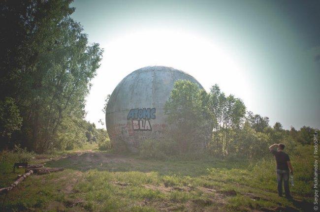 Радиопрозрачный купол под Москвой (16 фото)