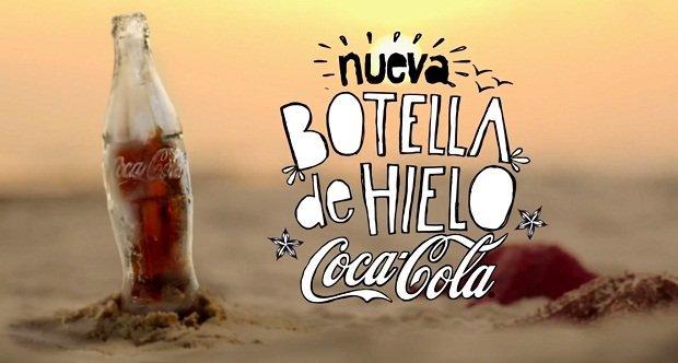 Coca-Cola выпустила бутылку, сделанную полностью изо льда (8 фото+видео)