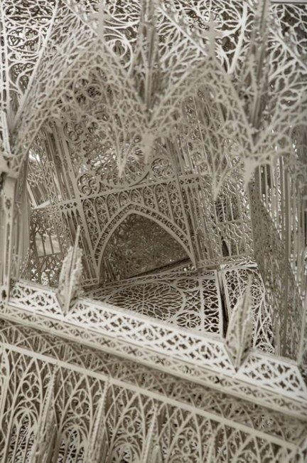 Готическое искусство от Вим Дельвуа (Wim Delvoye) (6 фото)