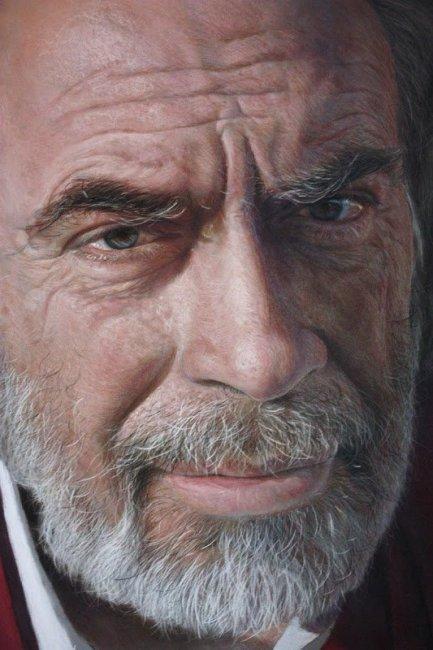 Гиперреалистичные портреты, написанные пастелью Рубеном Беллосо Адорна (9 фото)