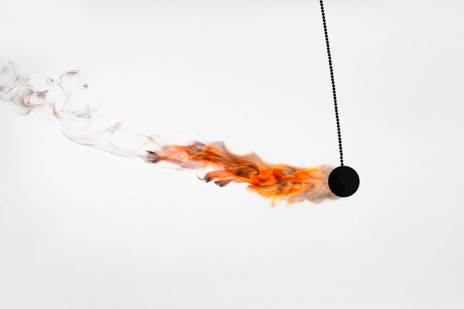 Фигуры из огня от Rob Prideau (19 фото)