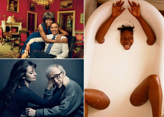 Лучшие фотографии Annie Leibovitz (11 фото)