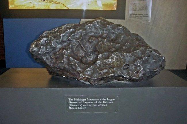 Аризонский метеоритный кратер – крупнейший из сохранившихся на планете (8 фото)