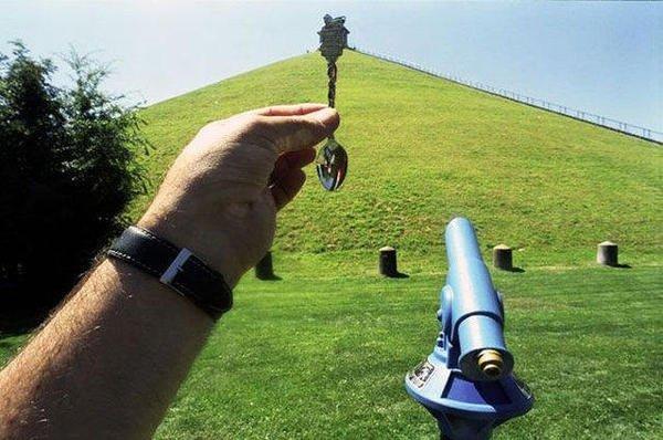Оптические иллюзии от  Майкла Хьюза.(21 фото)