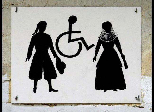 Необычные туалетные таблички со всего мира (16 фото)