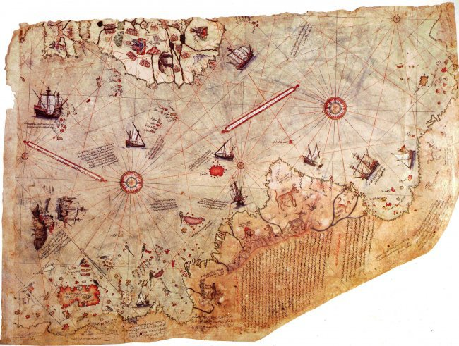 Неразгаданная тайна 20 века: Карта Пири Рейса