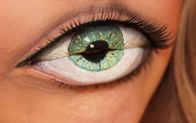 Оптическая иллюзия от Sandra Holmbom (2 фото)