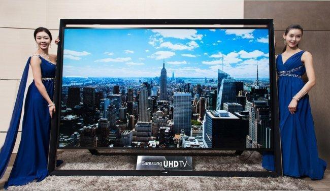 Самый большой телевизор в мире от Samsung