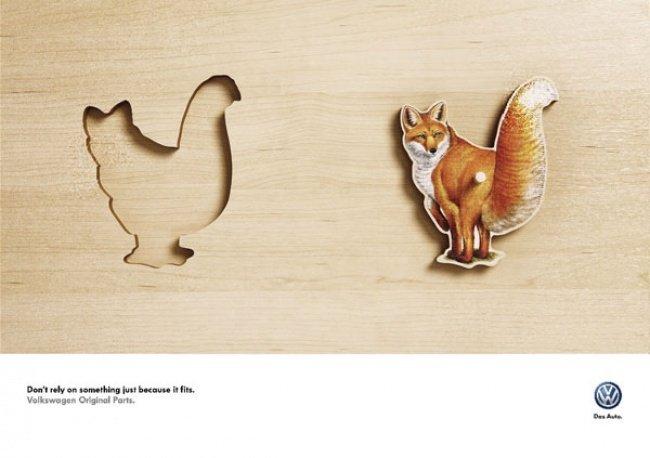 Лучшая печатная реклама года (33 фото)