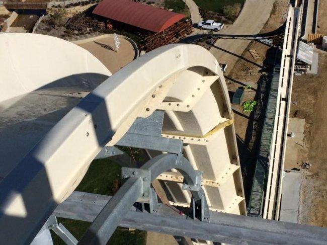 Самая высокая горка в мире Verr&#252-ckt (5 фото + видео)