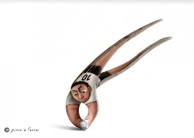 Живые скульптуры от Жилбера Леграна  (22 фото)