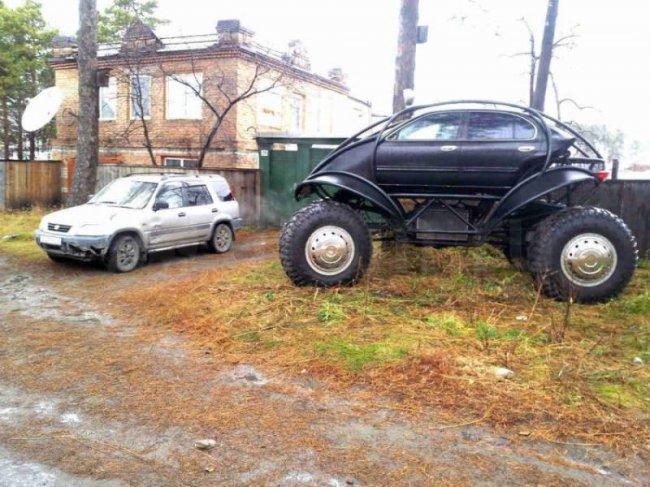 Необычный автомобиль (5 фото)