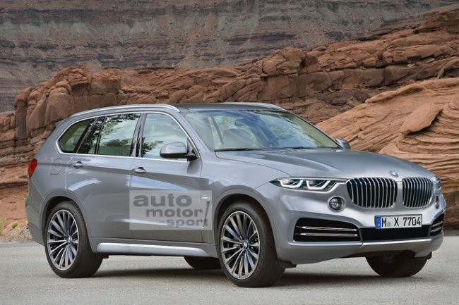 BMW X7: первые подробности