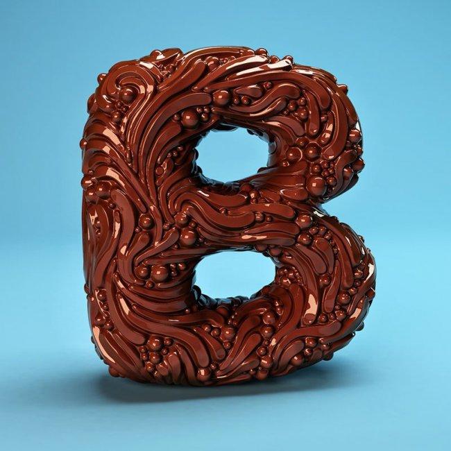 Изящный алфавит от Foreal (26 фото)