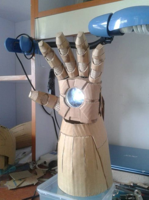 Железный человек своими руками (12 фото + видео)