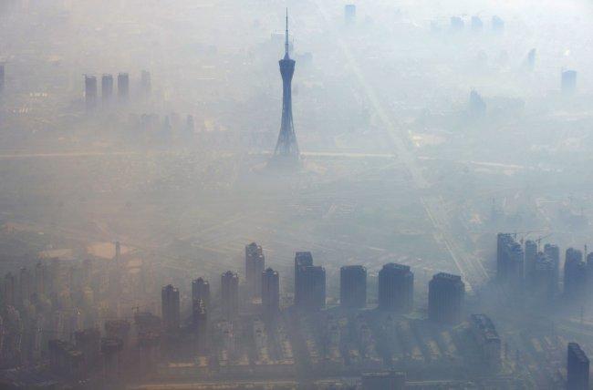 В Китае появились продавцы воздуха