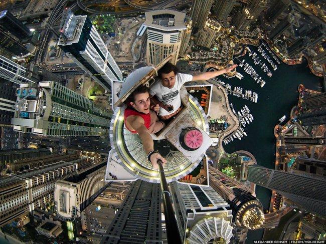 Фото дня 23.05.2014 - фото с самого высокого здания в мире