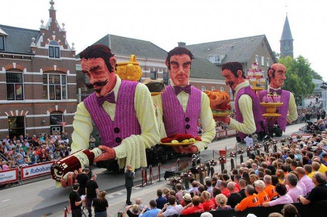 Фестиваль георгин Corso Zundert 2014 (11 фото)