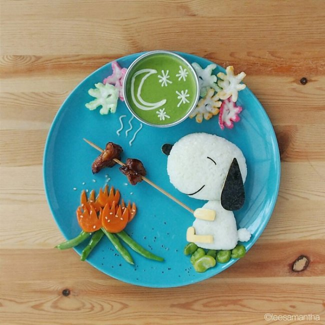 Эксперименты с едой от Саманты Ли (часть 2 - 10 фото)