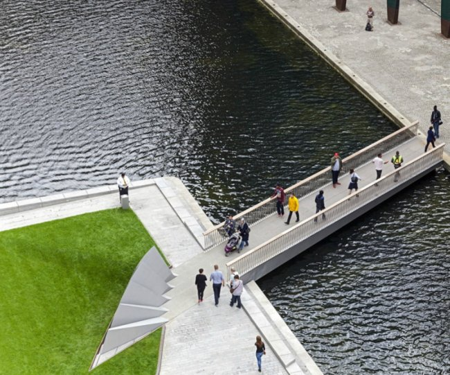 Веерный мост в Лондоне (4 фото).