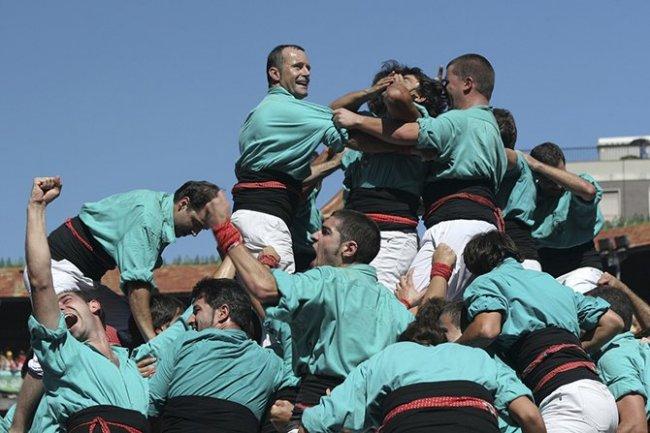Человеческие замки в Испании (11 фото)