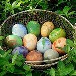 Как красить яйца на Пасху, пошаговая инструкция с фото