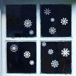 Идеи для детских новогодних рисунков на окнах (фото)