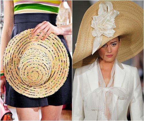 Модные головные уборы весна-лето 2013, тенденции моды, фото