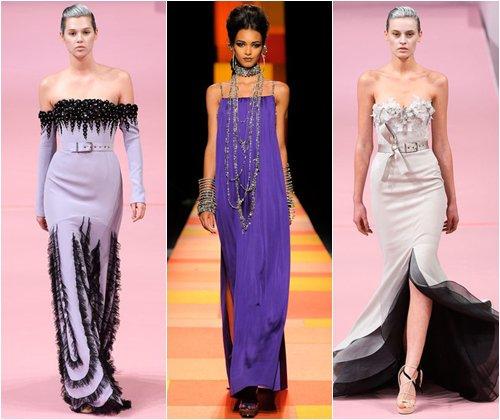 Красивые длинные платья на выпускной 2013, стильные фасоны длинных платьев, фото
