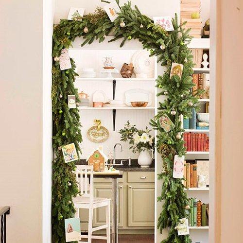 23 идеи для новогоднего оформления интерьера маленькой квартиры