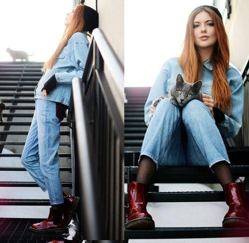 С чем носить джинсовую куртку: фото самых модных вариантов одежды