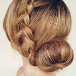 Как сделать свадебную прическу на волосы средней длины — фото мастер-класс