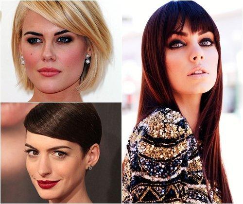 Модная длина волос 2013, стильная длина стрижек, фото
