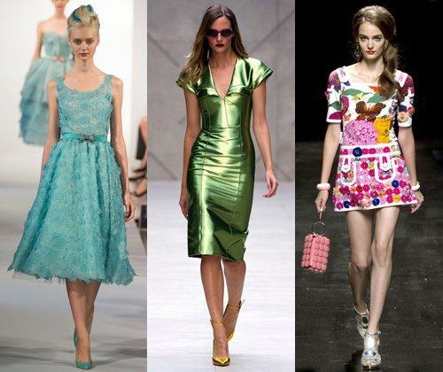 Модные платья весна-лето 2013: фото самых красивых платьев